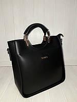 Женская сумка ZARA черная , фото 1
