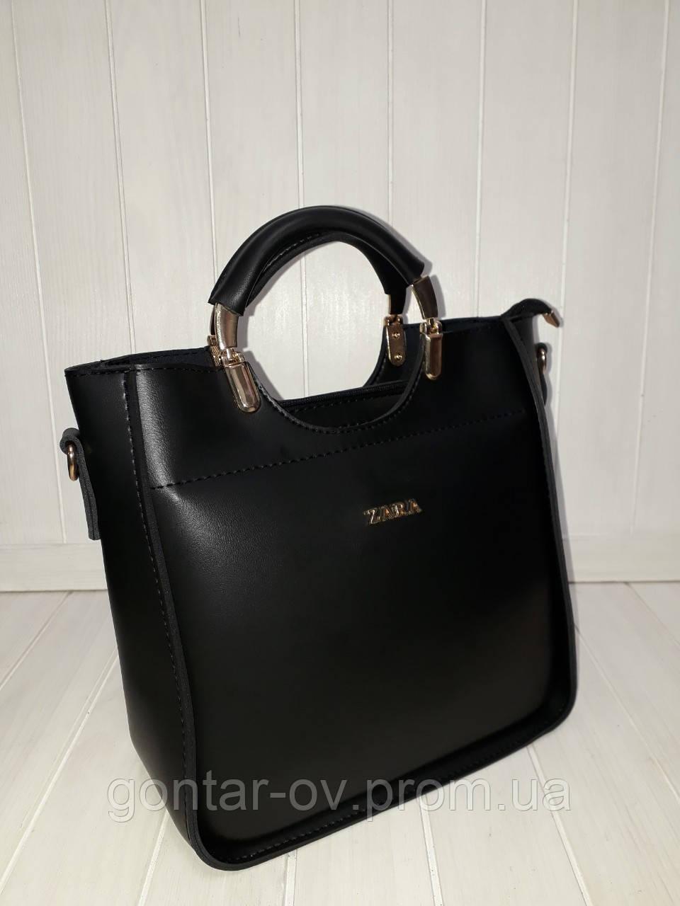 Женская сумка ZARA черная