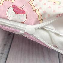 """Кокон-гніздечко для новонародженого з кокосовим матрацом """"Star Ice Cream"""", фото 2"""