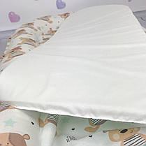 """Кокон-гнёздышко для новорожденного с кокосовым матрасом """"Teddy Bear"""", фото 2"""
