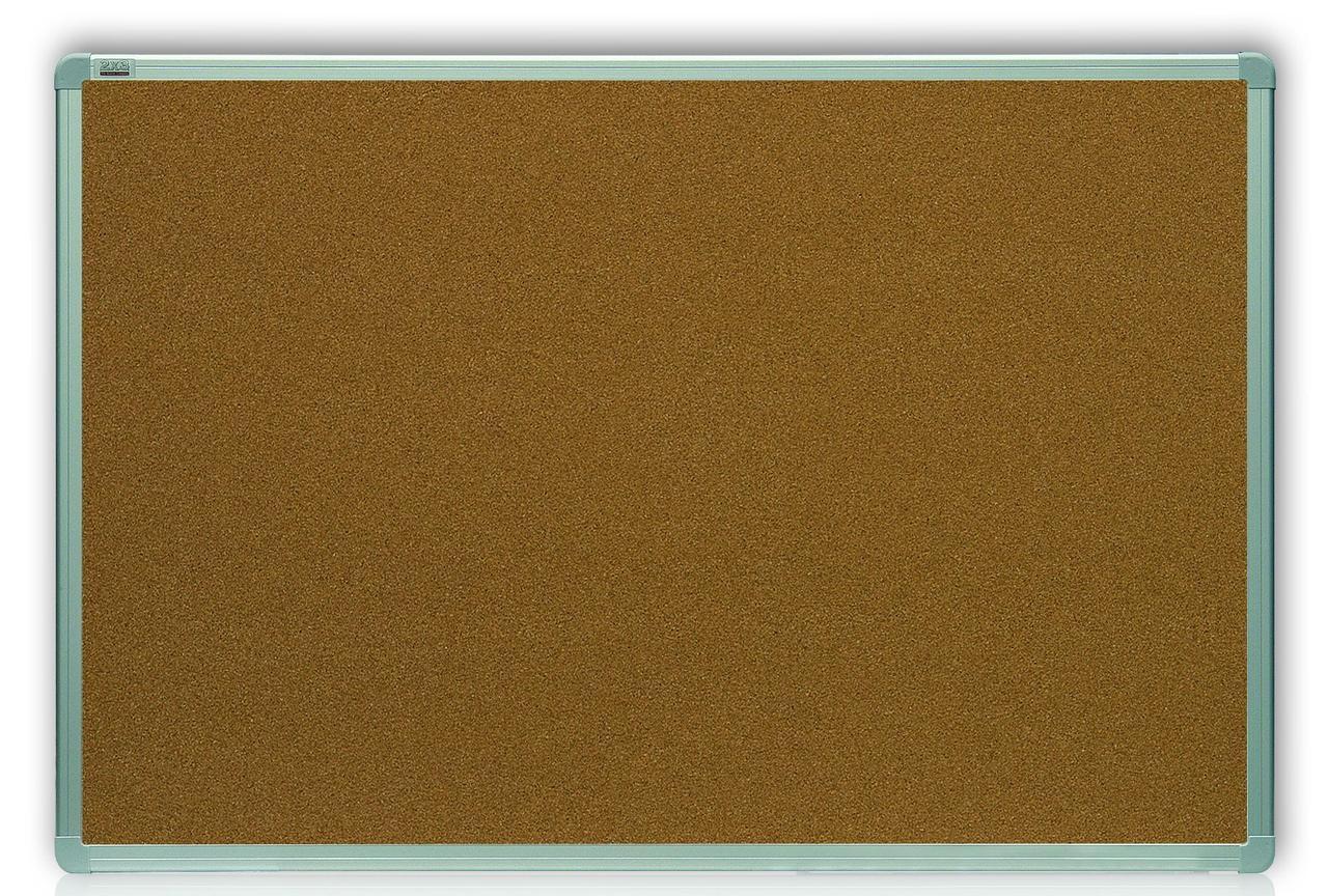 Доска пробковая 2x3 в алюминиевой рамке  ALU23, 45x60см (TCA456)