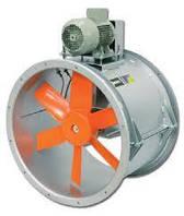 Трубний осьовий вентилятор з ремінним приводом HPX-35-2T-0.75
