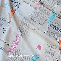 36019 Модный пошив. Ткань для модного рукоделия и шитья. Хобби ткань для хендмэйд творчества.