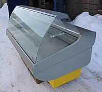 Холодильная витрина гастрономическая «Росс Siena» 2.0 м. (Украина), Широкая выкладка 73 см, Б/у, фото 1