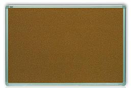 Доска пробковая 2x3 алюминиевая рамка ALU23, 100х200см. (TCA1020)