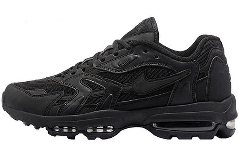 1b42efc9 Мужские кроссовки Nike Air Max 96 Triple Black (найк аир макс 96, черные)