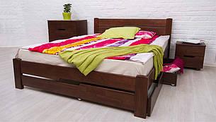 Кровать деревянная Айрис с ящиками ТМ Олимп, фото 2