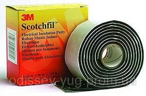 Электроизоляционная мастика 3М Scotchfil 110 (38 мм х 1,5 м), фото 1
