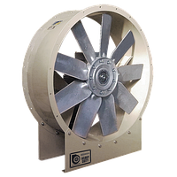 Трубний осьовий вентилятор  з алюмінієвою лопаткою HGT-125-4T/3-10 IE3