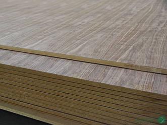 МДФ плита шпонована 19 мм А/В 2,80х2,07 м – Горіх Американський