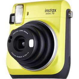 Фотокамера моментальной печати Fujifilm Instax Mini 70 EX D Yellow