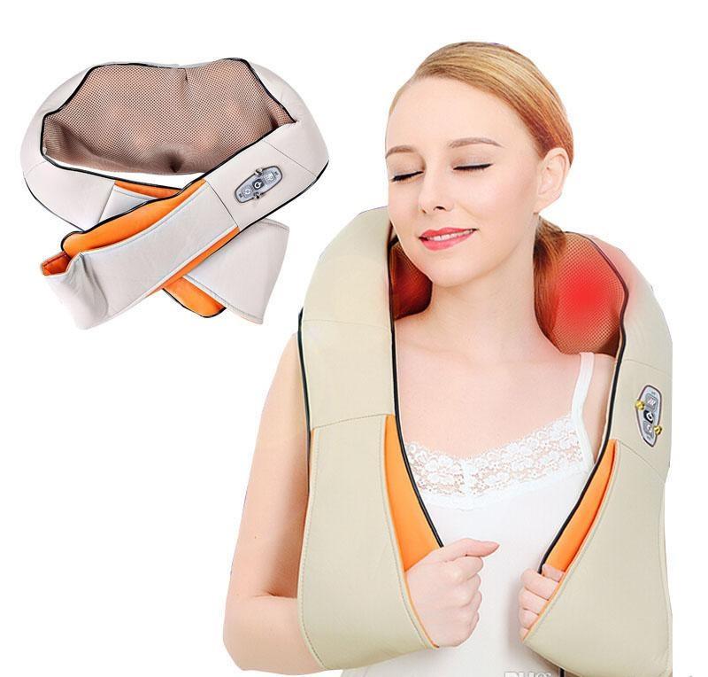 Масажер стукаючий, від болю в шиї, спині, плечах (Cervical Massage Shawls)