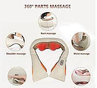 Масажер стукаючий, від болю в шиї, спині, плечах (Cervical Massage Shawls), фото 4