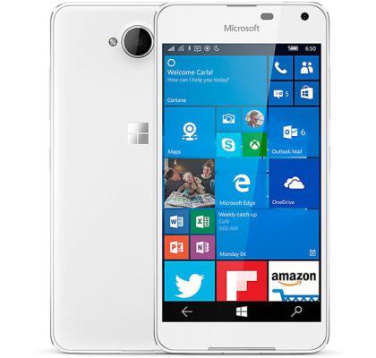 Смартфон Microsoft Lumia 650 1/16gb White Snapdragon 212 2000 мАч + Подарки