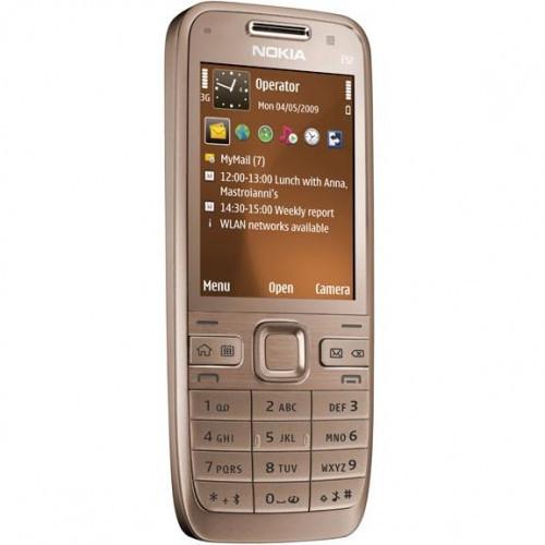Мобильный телефон Nokia E52 Gold 1500 mAh