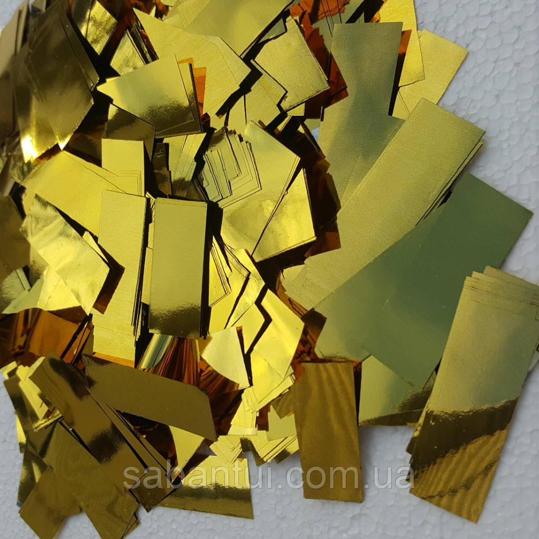 Золотое конфетти для золотого шоу и праздника