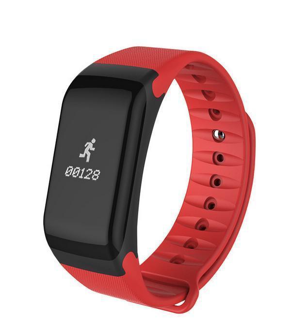 Фітнес-браслет F1 Smart Band Red
