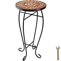 Балконный стол, клумба, терракотовая мозаика, фото 1