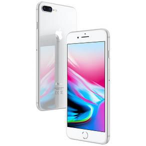 Смартфон Apple iPhone 8 Plus 256Gb Silver Apple A11 Bionic 2675 мАч + чехол и стекло