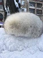Меховая шапка из песца шапка песцовая шапка натуральный песец, фото 1