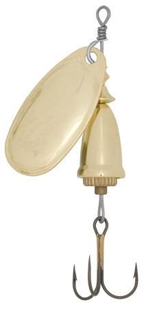Блесна Wizard вертушка Vibrax 3 -10г Gold