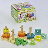 Деревянная пирамидка - сортёр 31467 (36)