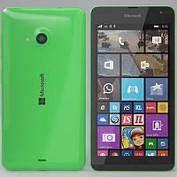 Смартфон Microsoft Lumia 535 Dual Sim   1/8 gb Qualcomm Snapdragon 200 1905 мАч Green, фото 2