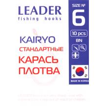 Крючок Leader Kairyo BN 6, фото 2