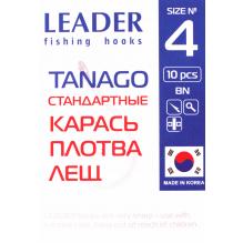 Крючок Leader Tanago BN 3, фото 2