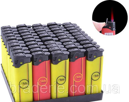 Зажигалка турбо пластиковая 888-16, фото 2