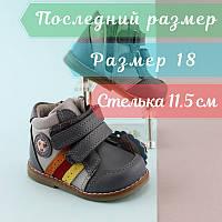 bdfb44289 Кожаные ботинки на мальчика, детская демисезонная обувь, ортопедия, акция  тм Том.м