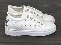 Женские кеды Lonza HLN3018-1 WHITE 36 23 см, фото 1