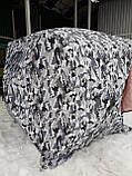 "Палатка зимняя  ""КУБ"" Буран для рыбалки утепленная OXFORD 3000 3-х слойная 200х200х205 см, фото 6"
