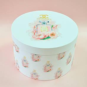 "Шляпная коробка ""Chanel #5"" d25 h20"
