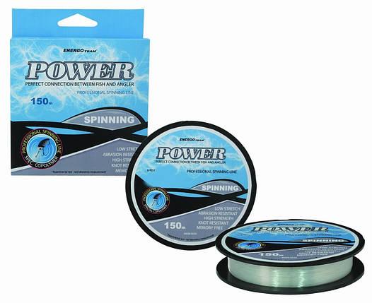 Леска Energofish ET Power Spin Clear 150 м 0.25 мм 7.88 кг (33530025), фото 2