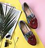 Туфли женские с аппликацией цветка Marcella