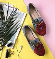 Туфли женские с аппликацией цветка Marcella, фото 1