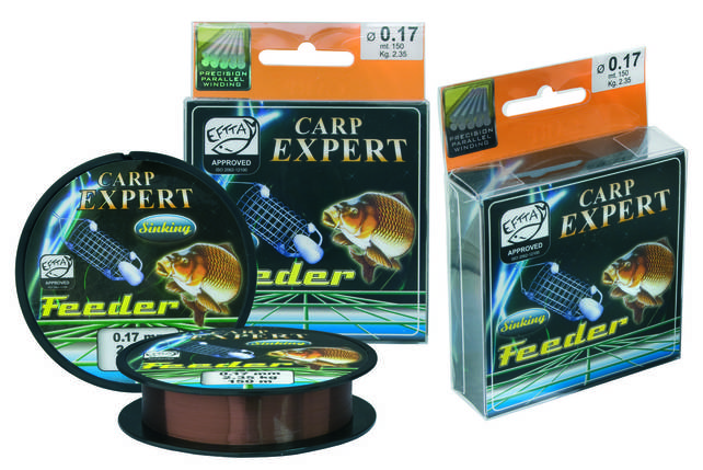 Леска Energofish Carp Expert Feeder Sinking Light Brown 150 м 0.17 мм 2.35 кг (30098017), фото 2