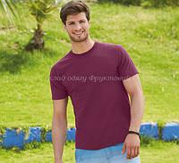 Мужская футболка классическая 100% хлопок