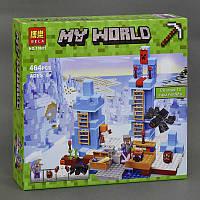 Конструктор Bela Minecraft Ледяные шипы, 460 деталей