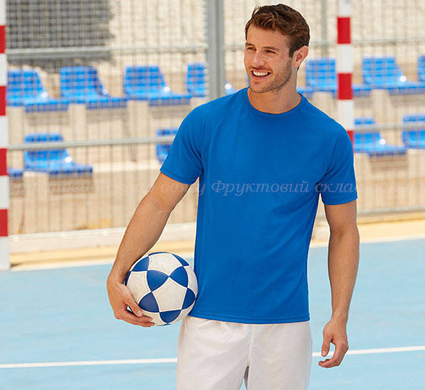 Мужская спортивная футболка легкая