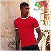 Мужская футболка с манжетами 100% хлопок, фото 5