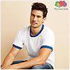 Мужская футболка с манжетами 100% хлопок, фото 7