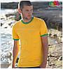 Мужская футболка с манжетами 100% хлопок, фото 8