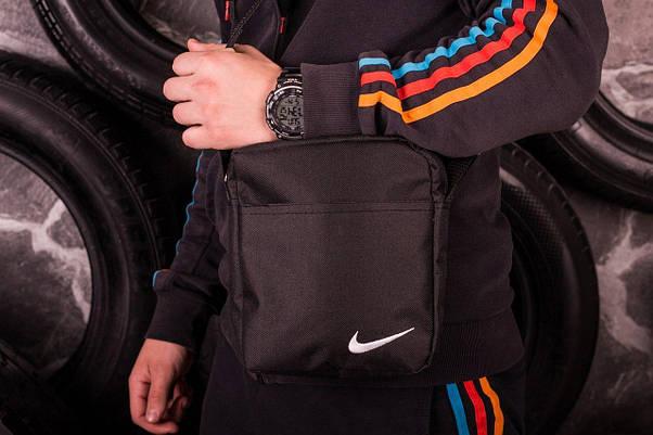 Мужской весенний костюм. Анорак  Найк, Nike + Штаны  + подарок Барсетка, фото 3