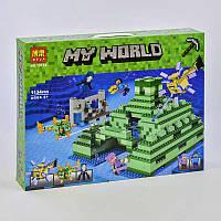 """Конструктор 10734 (12) Bela My World """"Подводная крепость"""", 1134 детали, в коробке"""
