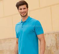 Мужская футболка поло 100% хлопок