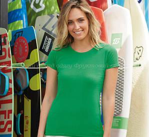 Женская мягкая и приталённая футболка 100% хлопок