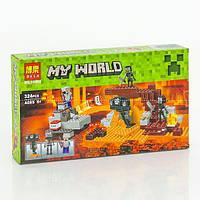 Конструктор Bela Майнкрафт 10469 Иссушитель, аналог Lego Minecraft, фото 1