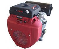 Бензиновый двигатель Weima WM2V78F (2 цил., вал конус, электростартер) 20 л.с, фото 1